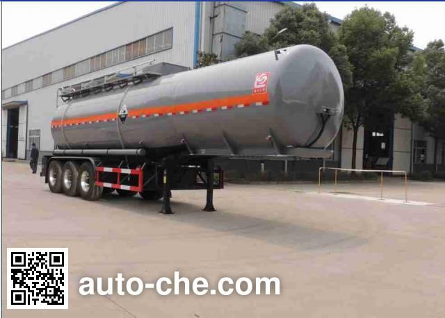醒狮牌SLS9405GFWA腐蚀性物品罐式运输半挂车
