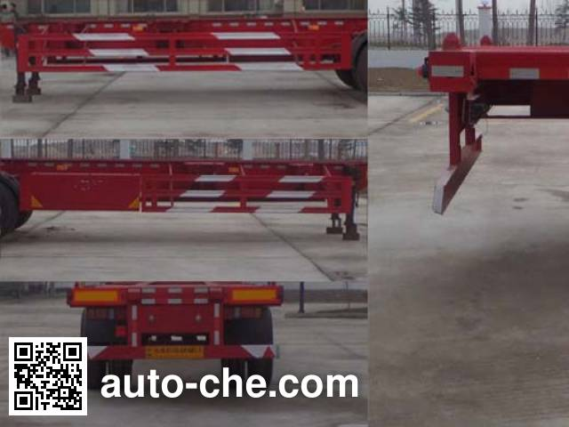 Liangyun SLY9150TJZ empty container transport trailer
