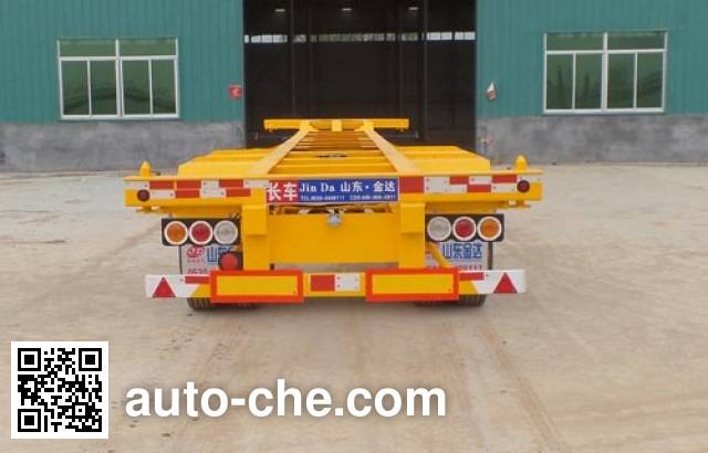 Liangyun SLY9351TJZE container transport trailer