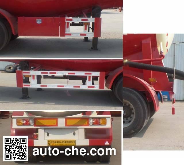 Liangyun SLY9380GXH ash transport trailer