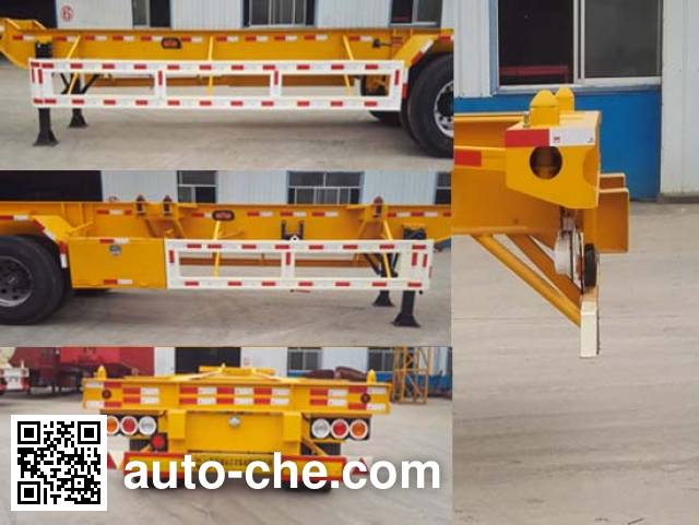 Liangyun SLY9381TJZ container transport trailer