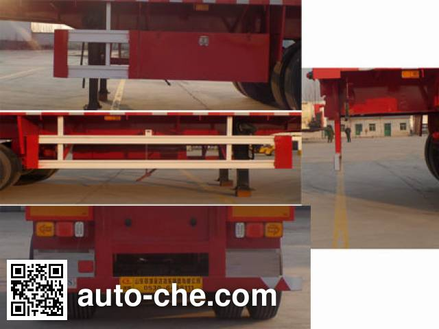 Liangyun SLY9400TPB flatbed trailer