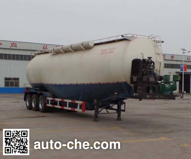 Liangyun SLY9403GFL low-density bulk powder transport trailer