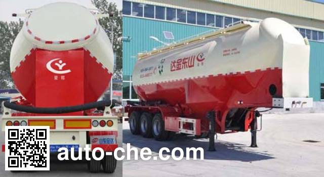Liangyun SLY9406GFL medium density bulk powder transport trailer