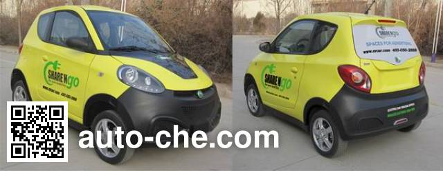 Geely SMA7001BEV10 electric car