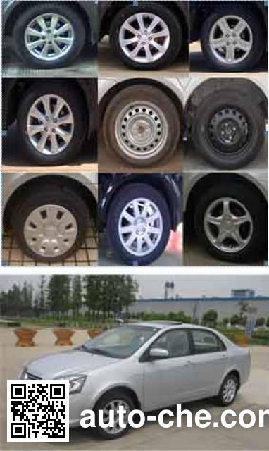 Yinglun SMA7151K05M метаноловый легковой автомобиль