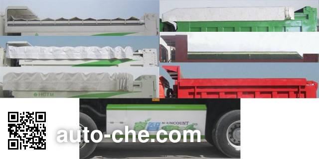 Sunhunk HCTM SMG3317ZZN42H8L4 dump truck