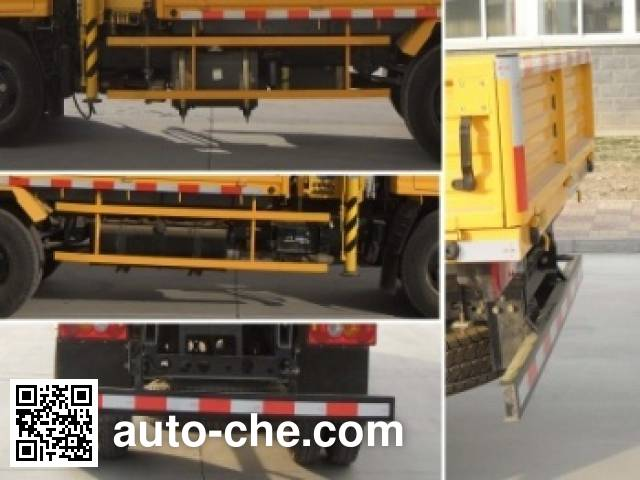 Shimei SMJ5040JSQXC4 truck mounted loader crane