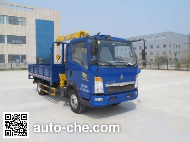 Shimei SMJ5040JSQZC4 truck mounted loader crane