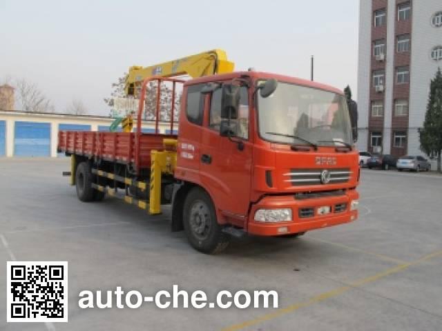 石煤牌SMJ5162JSQDC4随车起重运输车