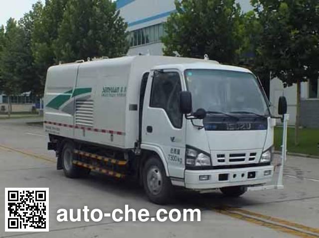 Senyuan (Henan) SMQ5070GQXQLE5 highway guardrail cleaner truck