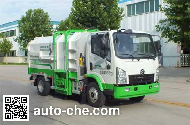 Senyuan (Henan) SMQ5070ZZZBEV electric self-loading garbage truck