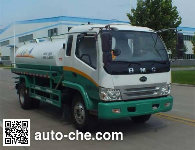 Senyuan (Henan) SMQ5081GZX biogas digester sewage suction truck