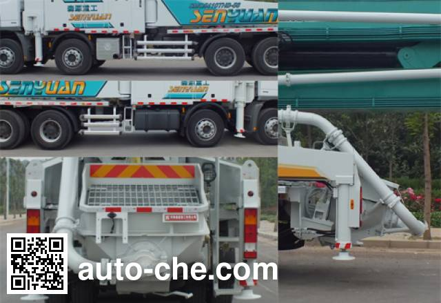 森源牌SMQ5410THB混凝土泵车