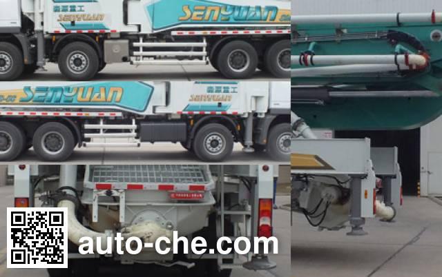 森源牌SMQ5440THB混凝土泵车