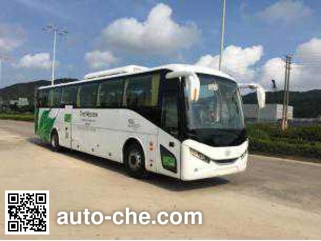 广通客车牌SQ6129BEVPT7纯电动客车