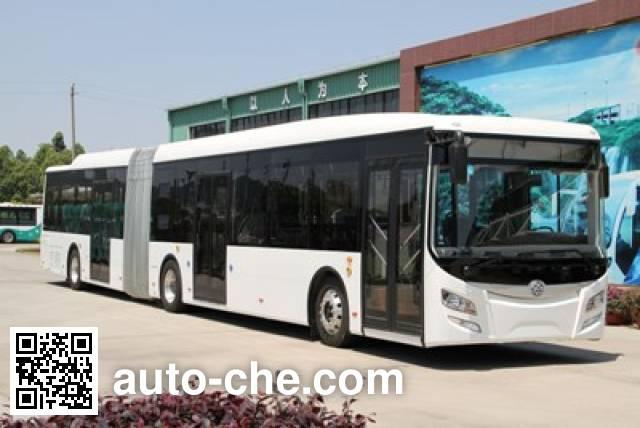 广通客车牌SQ6181BEVBT3纯电动铰接城市客车