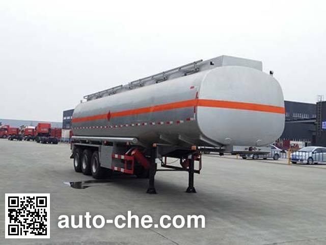 Qinhong SQH9402GRY flammable liquid tank trailer