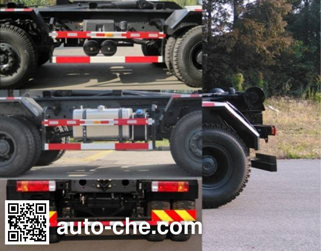 Sanhuan SQN5313ZXX detachable body garbage truck