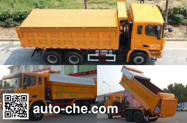 集瑞联合牌SQR3251D6T4-2自卸汽车