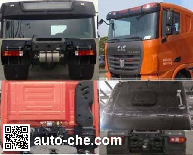 C&C Trucks SQR4251D6ZT2-1 container carrier vehicle