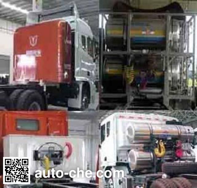 集瑞联合牌SQR4252N6ZT2-1集装箱半挂牵引车