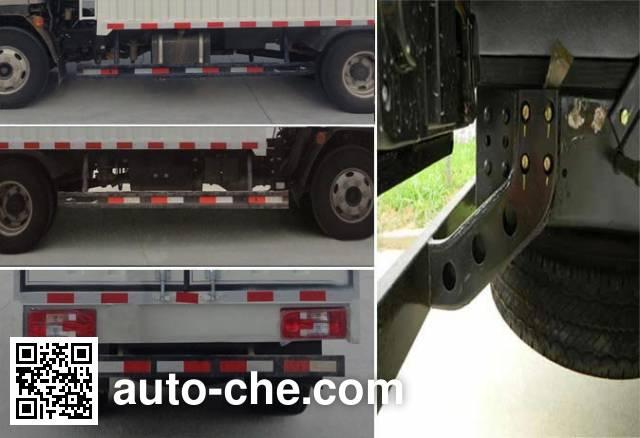 Karry SQR5040CPYH29D soft top box van truck