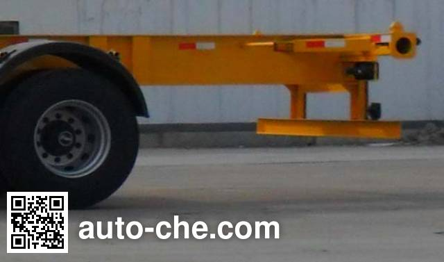 Kaishicheng SSX9150TJZG empty container transport trailer