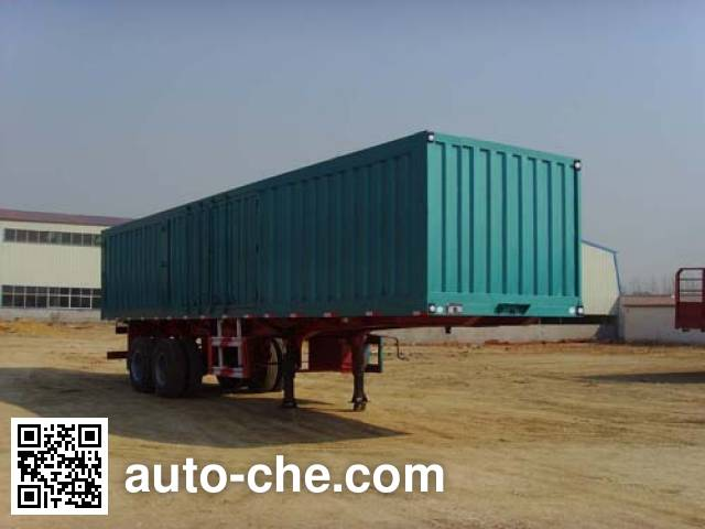 Kaishicheng SSX9270XXY box body van trailer