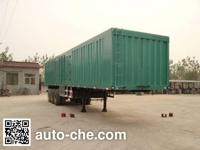 Kaishicheng SSX9320XXY box body van trailer