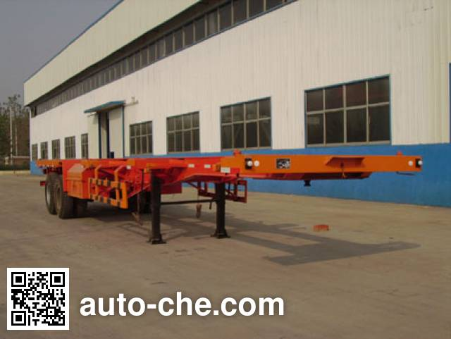 Kaishicheng SSX9350TJZG container carrier vehicle