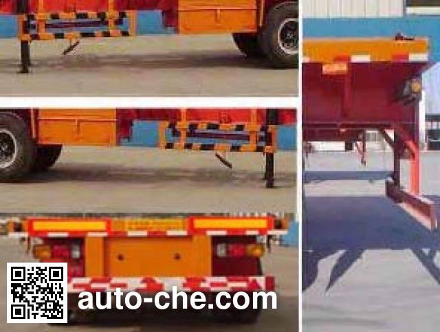 Kaishicheng SSX9350TJZG container transport trailer