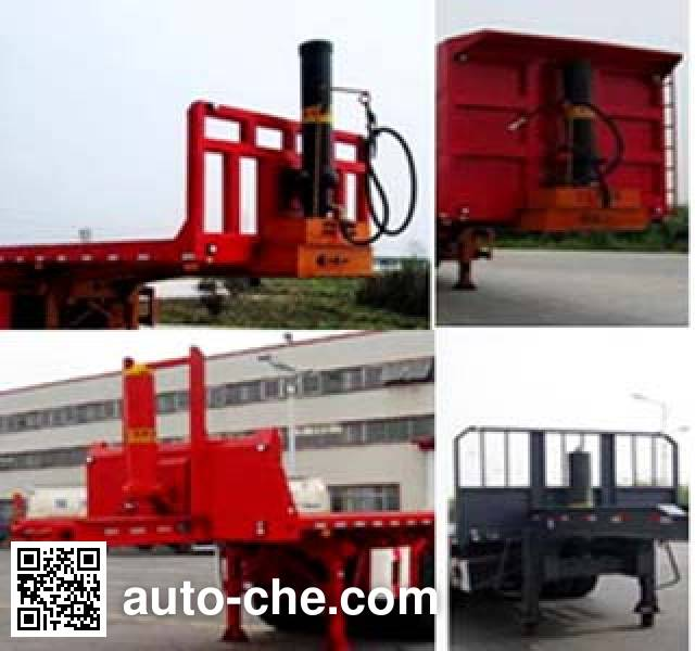 Kaishicheng SSX9402ZZXP flatbed dump trailer