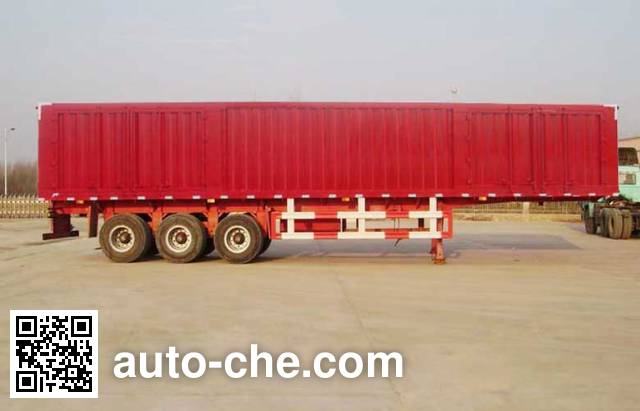 Kaishicheng SSX9390XXY box body van trailer