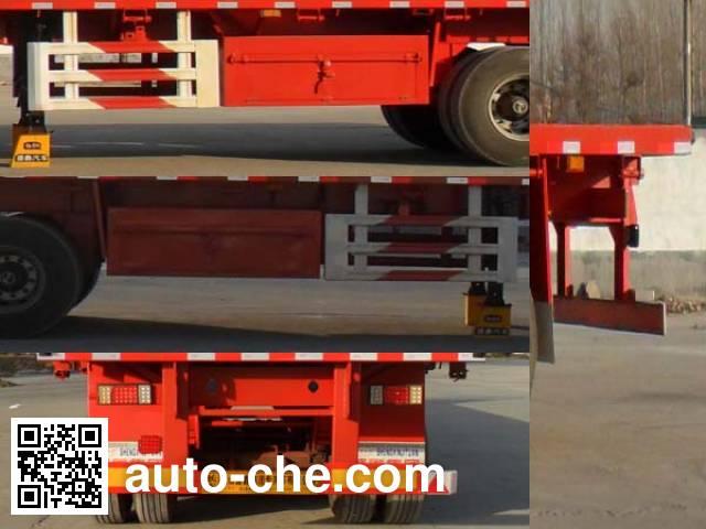 Kaishicheng SSX9400P flatbed trailer