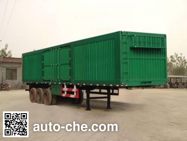 Kaishicheng SSX9401XXY box body van trailer