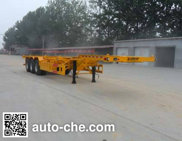 Kaishicheng SSX9402TJZG container transport trailer