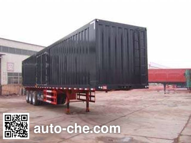 Kaishicheng SSX9405XXY box body van trailer