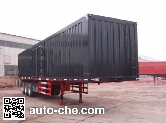 Kaishicheng SSX9405XXY box body van trailer
