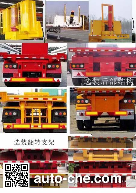 Shengyun SSY9401ZZXP flatbed dump trailer