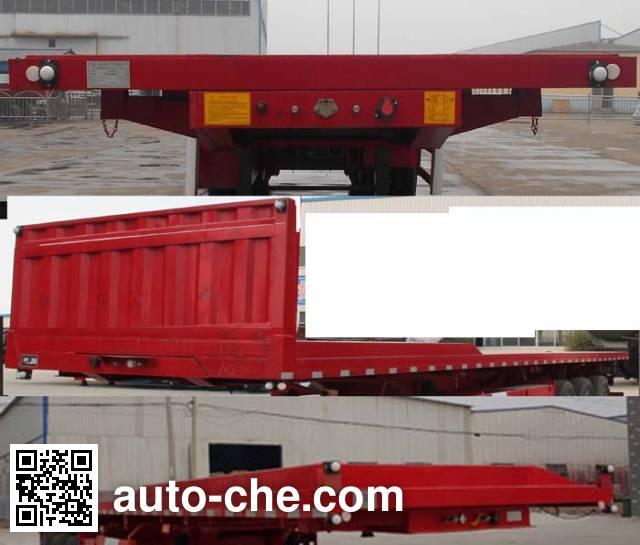Shengyun SSY9402ZZXP flatbed dump trailer