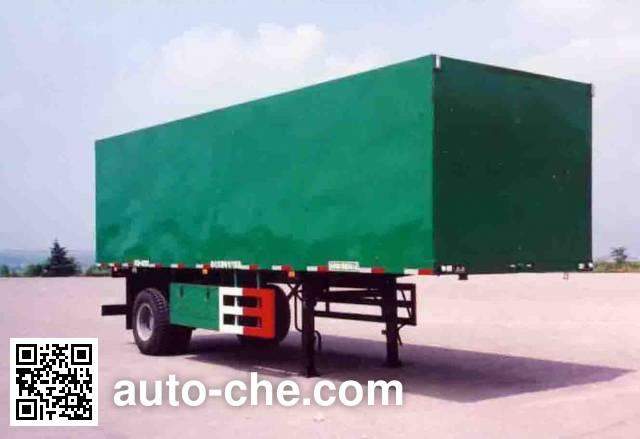 Lufeng ST9100X box body van trailer