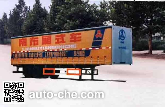 Lufeng ST9270XA box body van trailer