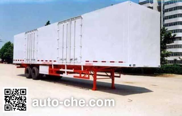 Lufeng ST9271X box body van trailer