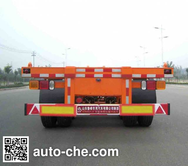 Lufeng ST9352TJZ container transport trailer