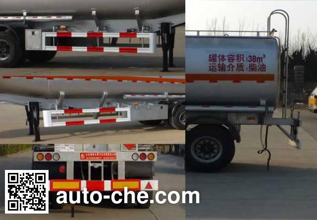 Lufeng ST9402GYY oil tank trailer