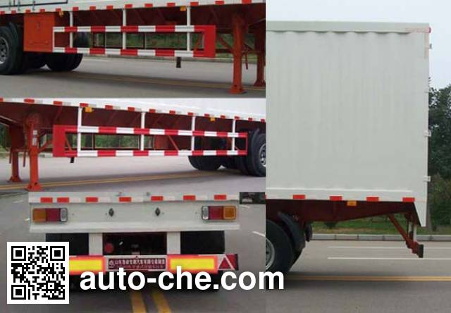 Lufeng ST9409XXY box body van trailer