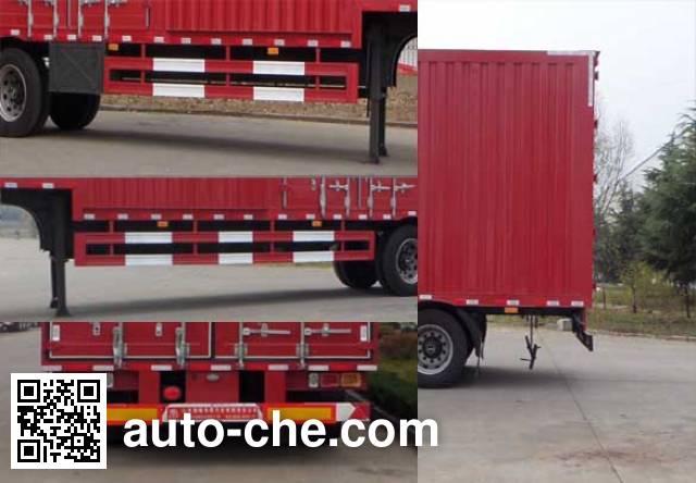 Lufeng ST9409XXYA box body van trailer