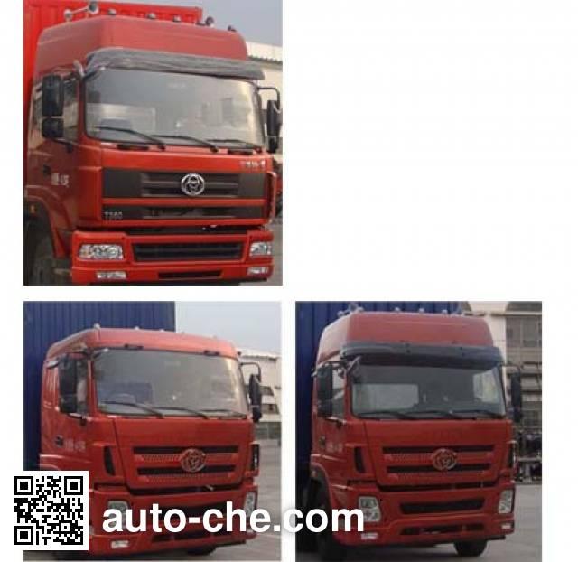 十通牌STQ5250XXYD4厢式运输车