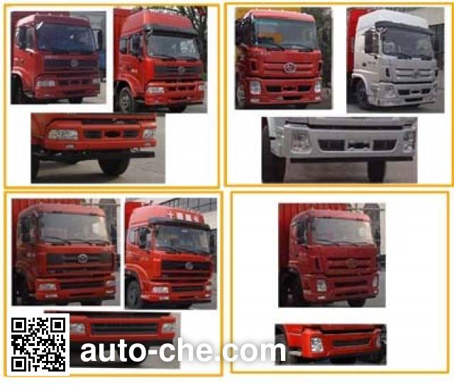 Sitom STQ5201XXYD5 box van truck